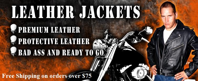 Motorcycle biker jacket