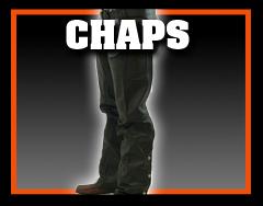 Leather Biker Chaps